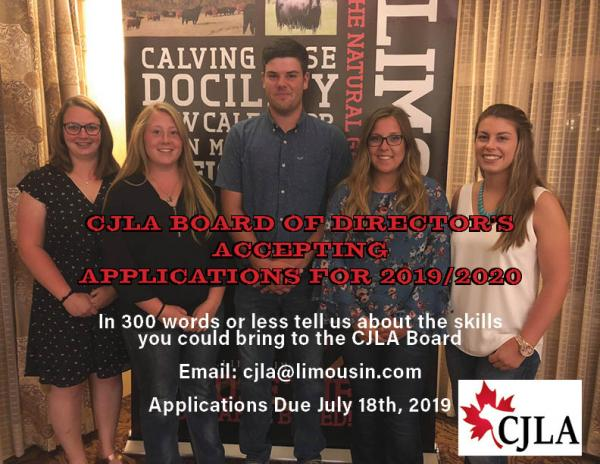 CJLA Board Applications 2019